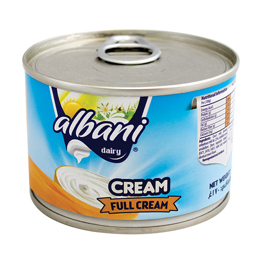 Albani Full Cream with Milk Fat
