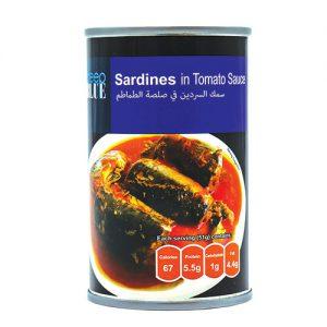 Deep Blue Sardine tomato sauce