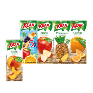 Kean Pineapple / Fruit cocktail / Apple / Peach nectar juice