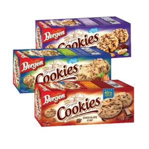 Bergen Grain cookies cocoa/ milk / muesli
