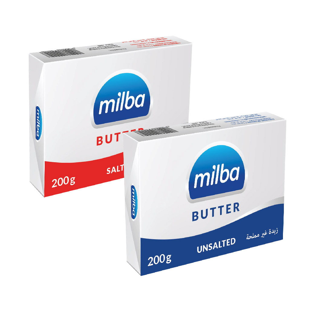 Milba Butter Salted / Unsalted