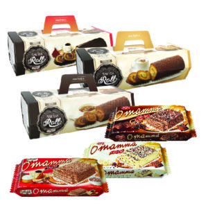 Freddi Swiss Roll/ O'mamma assorted