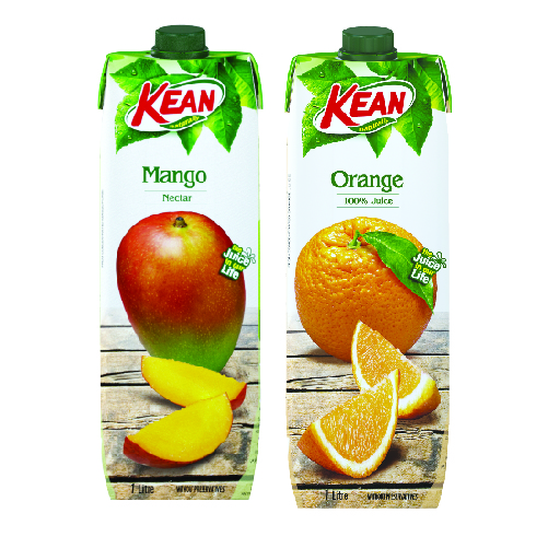 Kean Juice Orange/ Mango Nectar/ Fruit Cocktail