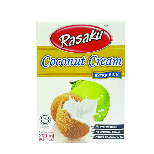 Rasaku Coconut Cream