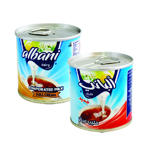 Albani Evaporated Milk Cream