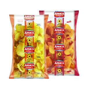 Amica Chips salted / Chips paprika