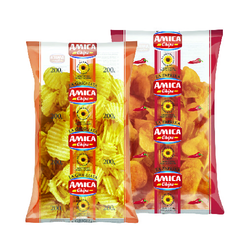 Amica Potato Chips Salted/ Paprika