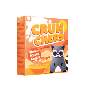 Crunchers Corn flakes