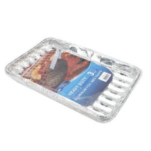 Aluminum Tray 3's