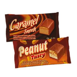Peanut Tasty Chocolate Bars