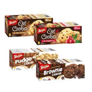 Bergen Oat Cookies Dark Chocolate