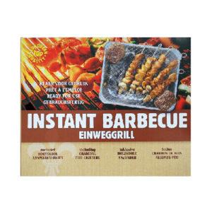 Instant BBQ In Carton Box