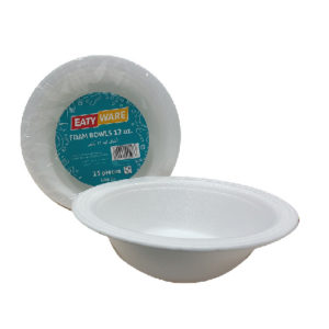 Eaty Ware Foam Cups 6oz.