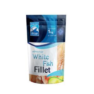Deep Blue White Fish Fillet