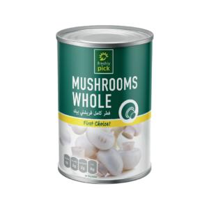 Freshly Pick Mushroom Whole