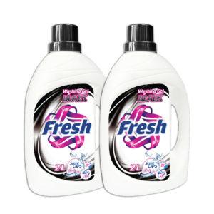 Fresh Liquid Detergent Black Cloths