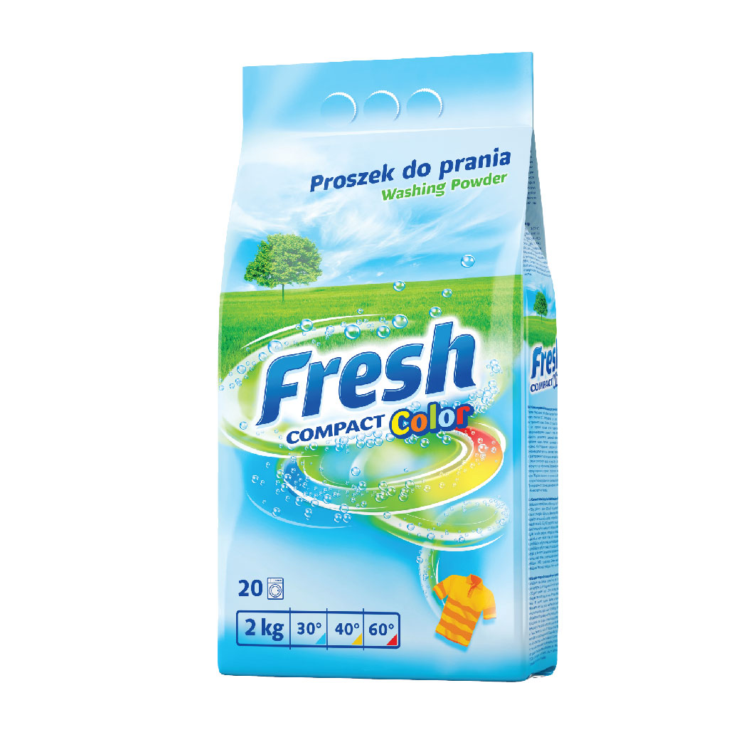 Fresh Detergent Powder Color