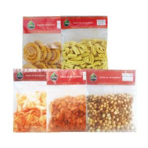 Ama Potato wafer/ Murruku / Gram whole roasted / Gathiya / Peanut masala