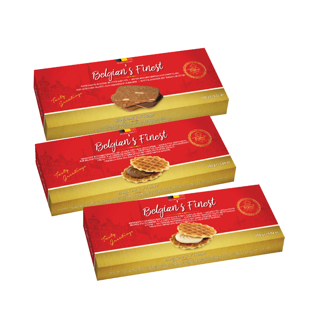 Belgian's Finest Butter Almond Biscuit