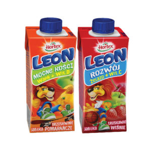 Leon Apple Cherry and Peach Drink