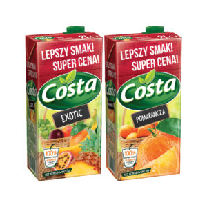 Costa Exotic drink / Orange drink