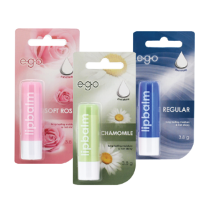 Ego Lip balm chamomile/ rose / regular