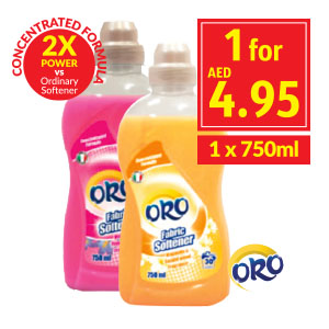 ORO Concentrated Softener Violet/ Jasmine/Magnolia
