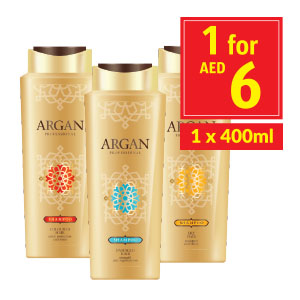 Argan Hair Shampoo Milky Repair/ Nutrition/ Color Protect
