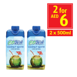 Cowa Coconut Water 100% Original 500 ml