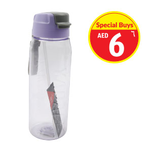 Plastic bottle 500ml with Straw