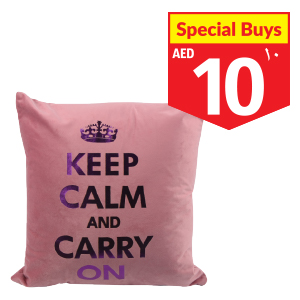 Fleece Cushion Violet 43 x 43cm