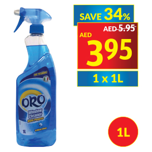 Oro Multipurpose Window Cleaner Spray Classic
